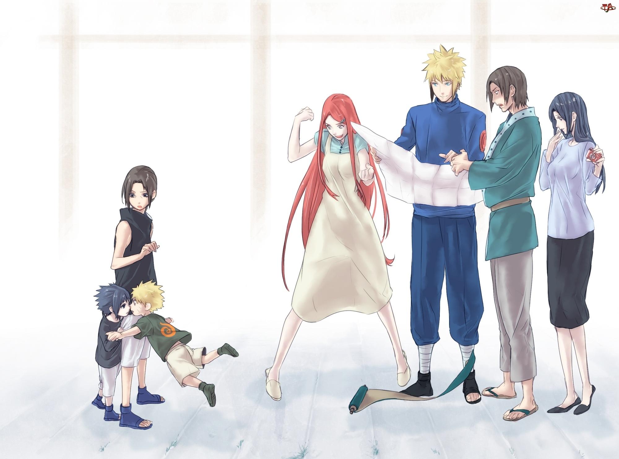 Itachi, Naruto, Sasuke