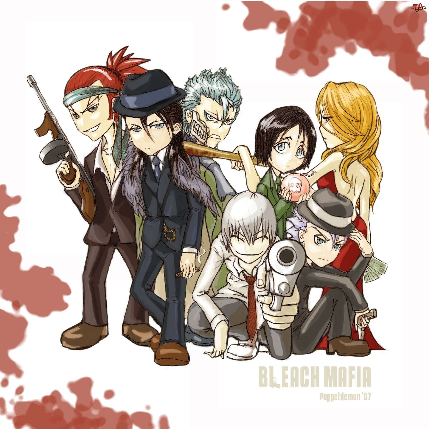 Mafia, Gangster, Bleach