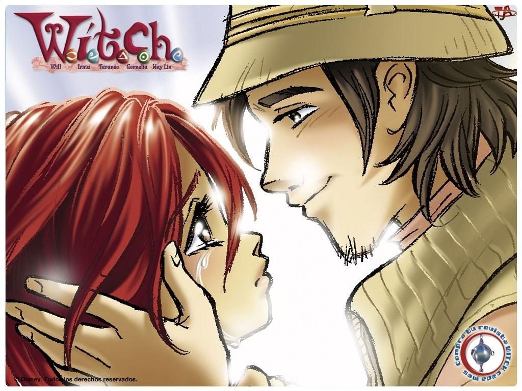 Czarodziejki Witch, łza, chłopak, dziewczyna
