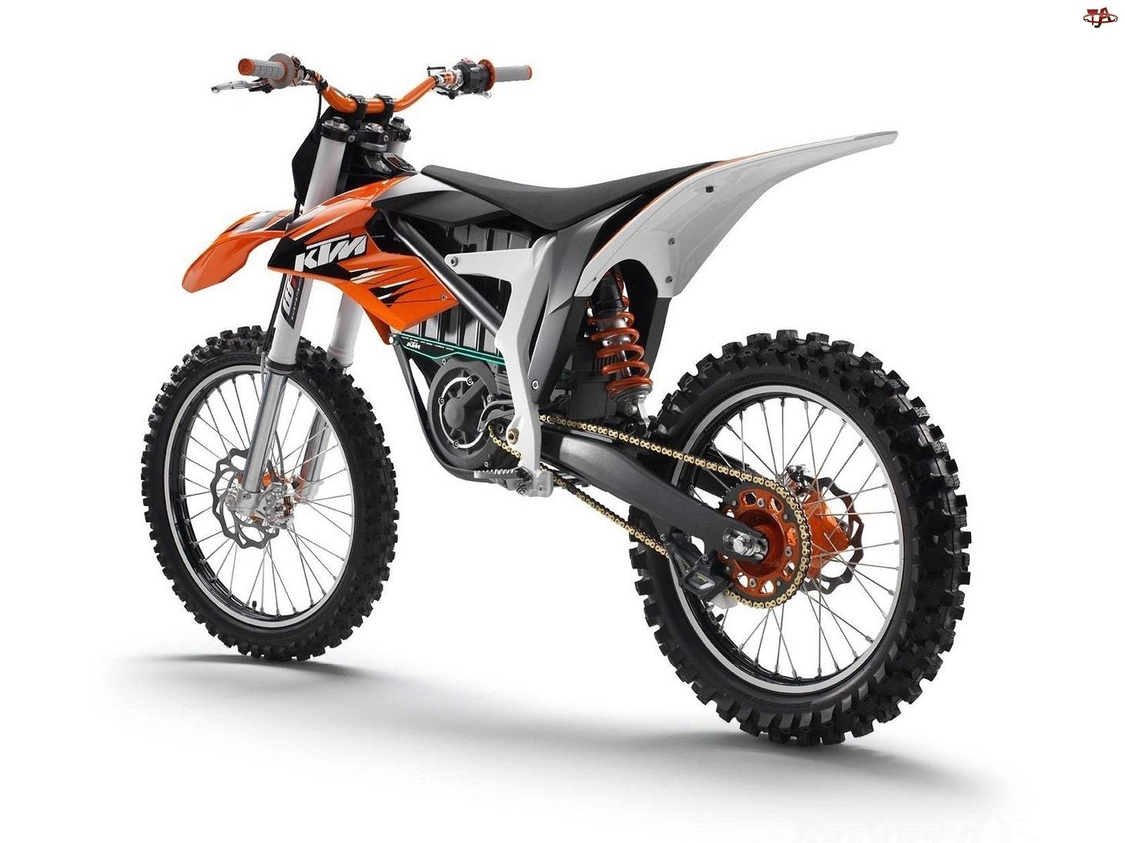 Elektryczny, KTM Freeride, Silnik