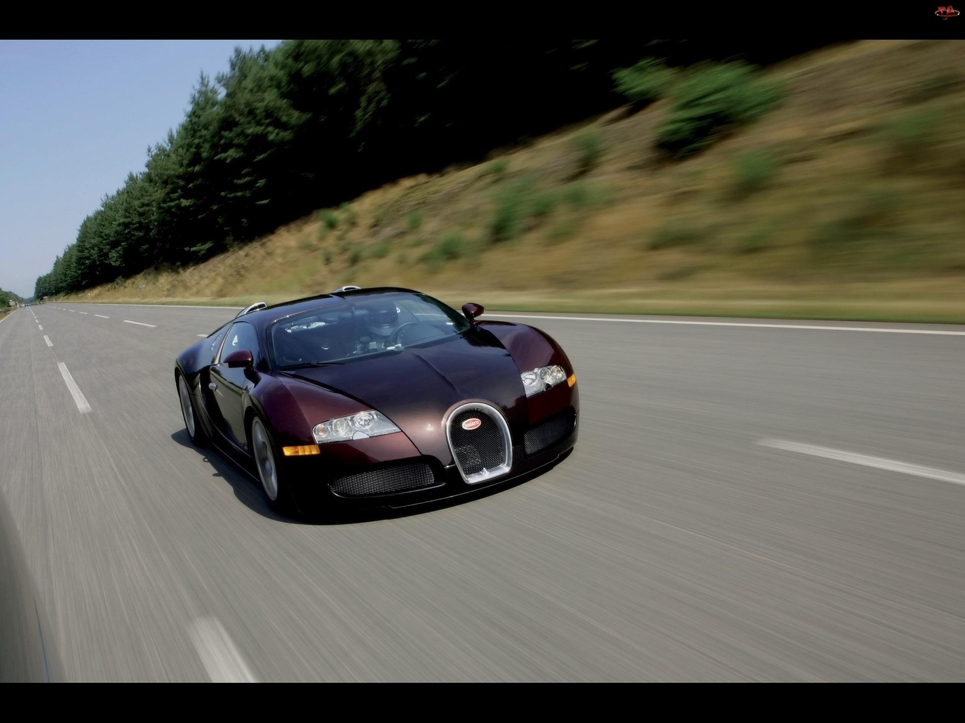 Bugatti Veyron, Autostrada