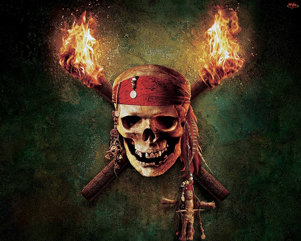 czaszka, Piraci z Karaib�w, trupia