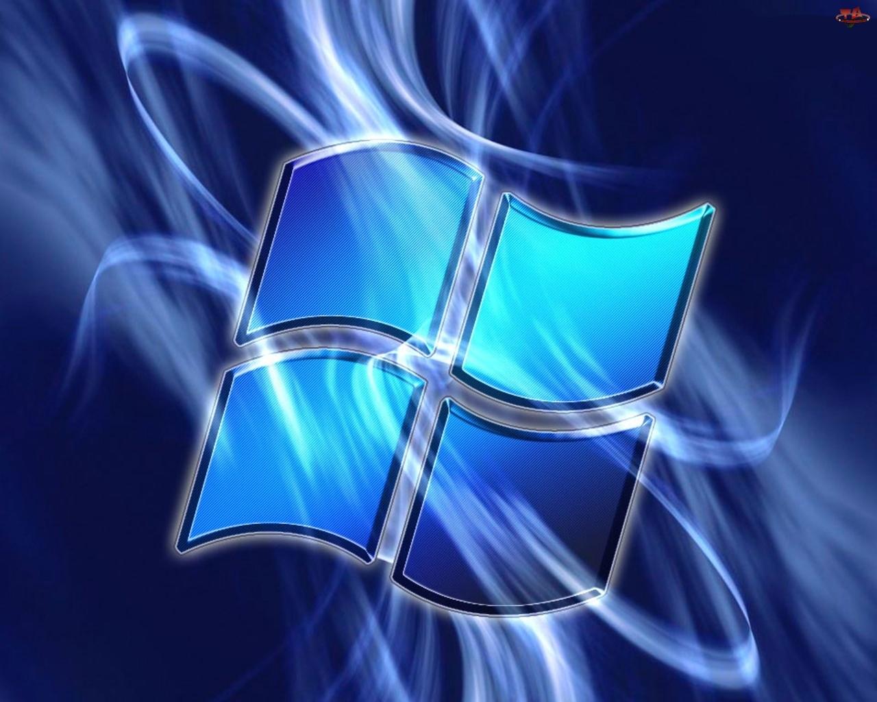 Niebieski, Windows
