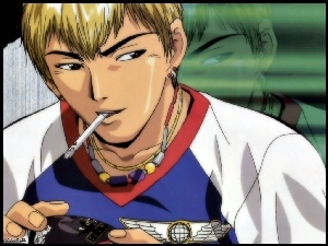 Great Teacher Onizuka, papieros, postac