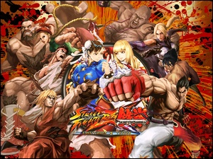 Street Fighter X Tekken, Postacie