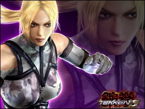 Tekken 5 Dark Ressurection, Nina Williams