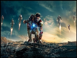 Iron Man 3, Robert Downey Jr