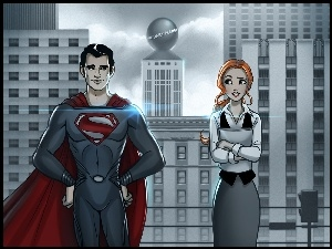 Superman, Grafika, Daekazu