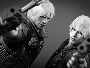 Nero, Devil May Cry, Dante