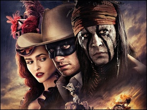 Film, The lone ranger, Aktorzy, Johnny Depp
