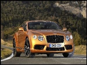 Droga, Bentley, Continental GT-V8