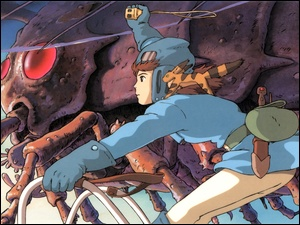 Anime, Nausicaa Of The Valley Of Mist, Manga