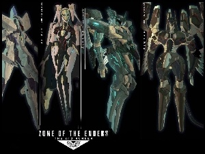 Zone Of The Enders, roboty