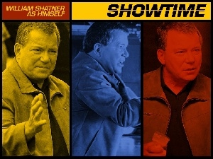 kolory, Showtime, William Shatner