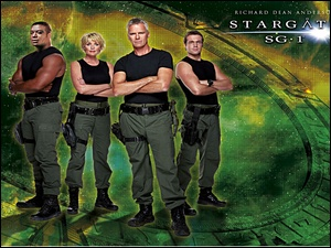 Richard Dean Anderson, Christopher Judge, Gwiezdne Wrota, Michael Shanks, Stargate SG-1, Amanda Tapping