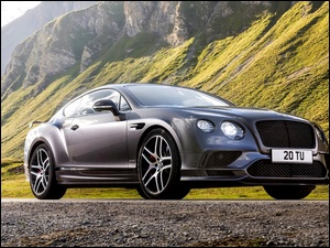 Góry, Bentley Continental GT Supersports, 2017