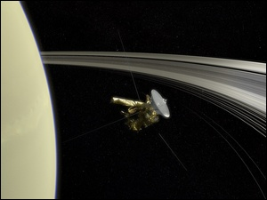Kosmos, Satelita Cassini, Planeta, Saturn