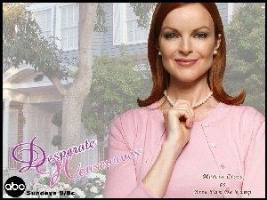 Desperate Housewives, dom, Marcia Cross, korale