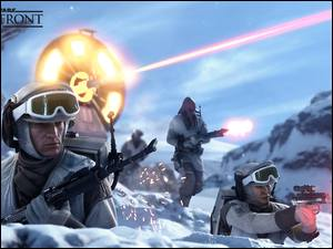 Planeta Hoth, Star Wars: Battlefront, Rebelianci