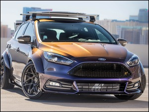 Ford Tuning Blood Type Racing Focus ST