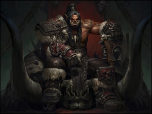 Tron, World of Warcraft: Warlords of Draenor, Ork, Grommash Hellscream