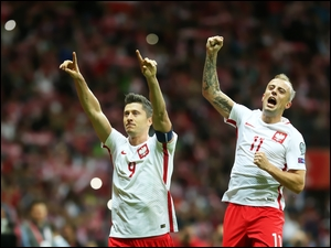 Robert Lewandowski Kamil Grosicki