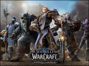 Plakat gry World of Warcraft: Battle for Azeroth