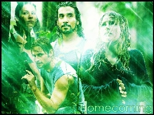 Emilie Ravin, Filmy Lost, Evangeline Lilly, Naveen Andrews, Josh Holloway