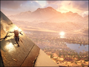 Scena z gry wideo Assassins Creed: Origins