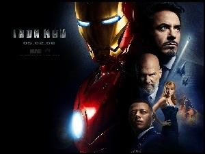 Gwyneth Paltrow, Iron Man, Terrence Howard, Robert Downey Jr., Jeff Bridges