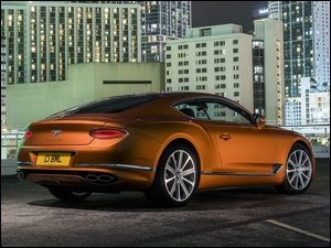 Bok, Bentley Continental GT V8, Coupe, Tył