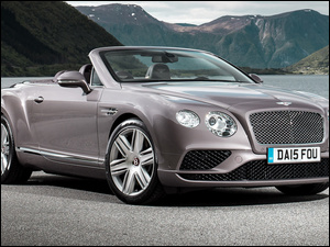 Przód, Bentley Continental GT, Kabriolet