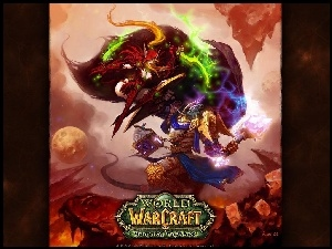 kobieta, World Of Warcraft The Burning Crusade, wojownik, walka