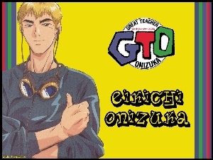 gogle, Great Teacher Onizuka, napisy, postać, logo