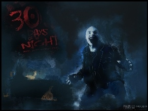 30 Days Of Night, wilkołak, łysy, chłopak