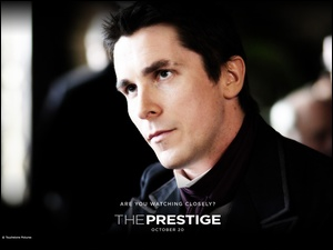 The Prestige, aktor, Christian Bale, twarz