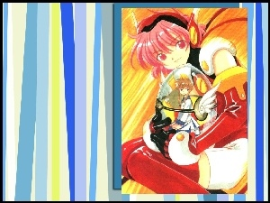 postacie, Angelic Layer, pasy