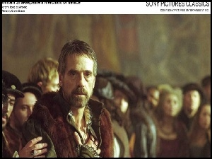 Merchant of Venice, Jeremy Irons, postacie
