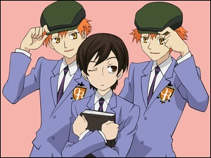 czapki, Ouran High School Host Club, ludzie