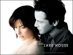 przytuleni, The Lake House, Sandra Bullock, Keanu Reeves, plakat