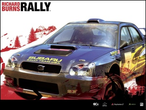 samochód, Richard Burns Rally, impreza, subaru, grafika