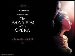 napisy, Phantom Of The Opera, Gerard Butler, Emmy Rossum, ciemno
