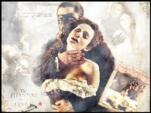 Phantom Of The Opera, zdjęcie, Emmy Rossum, Gerard Butler