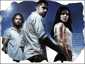 Filmy Lost, Josh Holloway, Evangeline Lilly, Matthew Fox
