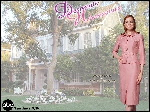 Desperate Housewives, ogród, Marcia Cross, dom