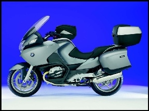 szary, BMW R1200RT