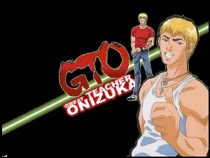 Great Teacher Onizuka, logo, facet, postacie