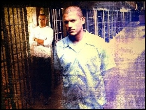 Prison Break, Wentworth Miller, Dominic Purcell, korytarz