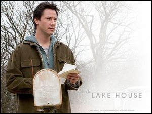 drzewa, The Lake House, list, Keanu Reeves, mgła