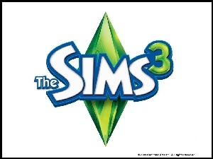 The Sims 3, Logo, Napis